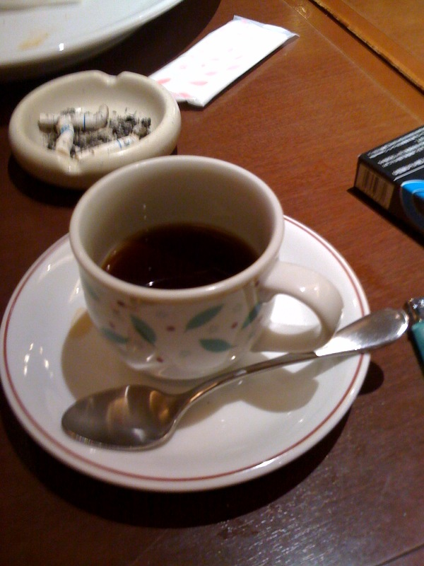 真夜中コーヒー